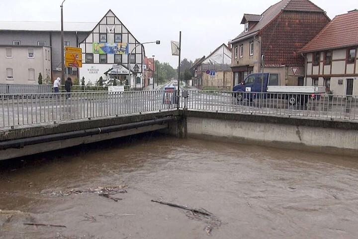 Auch in Derenburg, in der Nähe von Halberstadt, hat man Angst abzusaufen.