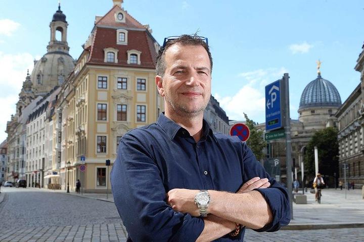 USD-Geschäftsführer Thomas Dathe (51) wurde beim Rasen erwischt.
