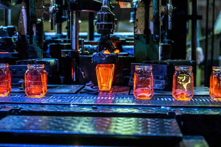 In Freital werden die Gläser hergestellt - das garantiert kurze Wege.