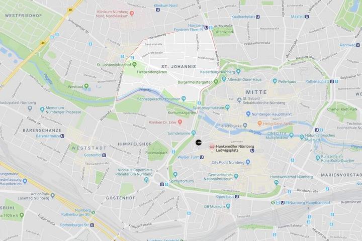 Im Nürnberger Stadtteil Sankt Johannis ist es zu einem beängstigenden Zwischenfall gekommen.