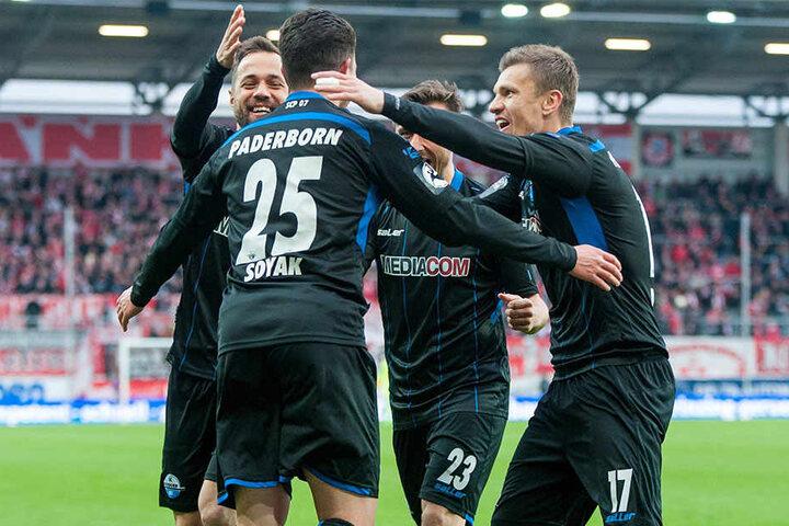 Gegen den FSV Frankfurt ist das gesamte Team des SC Paderborn gefragt.
