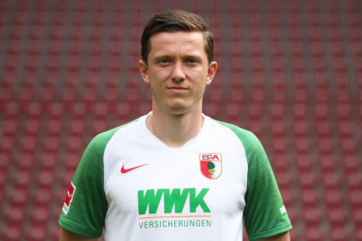 Michael Gregoritsch will Augsburg im Winter verlassen.