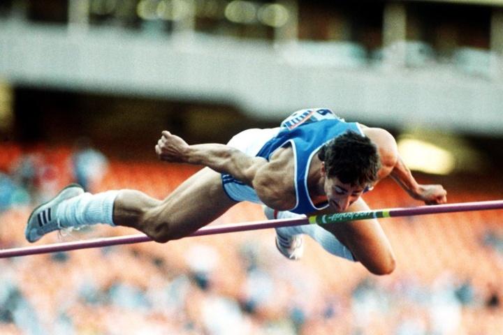 Christian Schenk 1988 in Seoul bei den Olympischen Spielen.