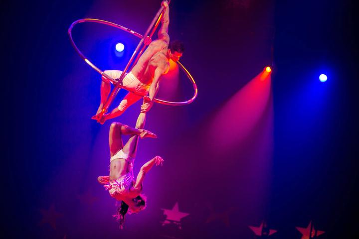 Nur noch dieses Wochenende kann man sich die Circus-Show des 25. Weltweihnachtscircus ansehen.