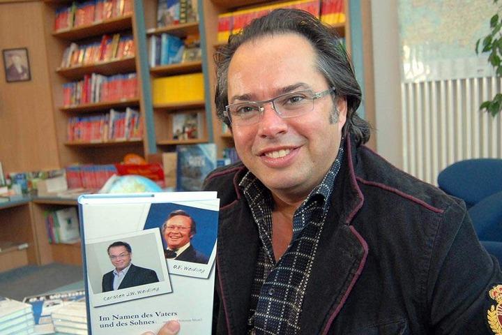 Ex-Moderator Carsten Weidling ist angeklagt, seinen einstigen Förderer Udo Foht erpresst zu haben.