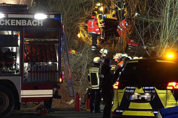 Polizei, Feuerwehr und Rettungskräfte waren im Einsatz.