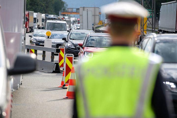 Am Grenzübergang in Kufstein wird verstärkt kontrolliert.