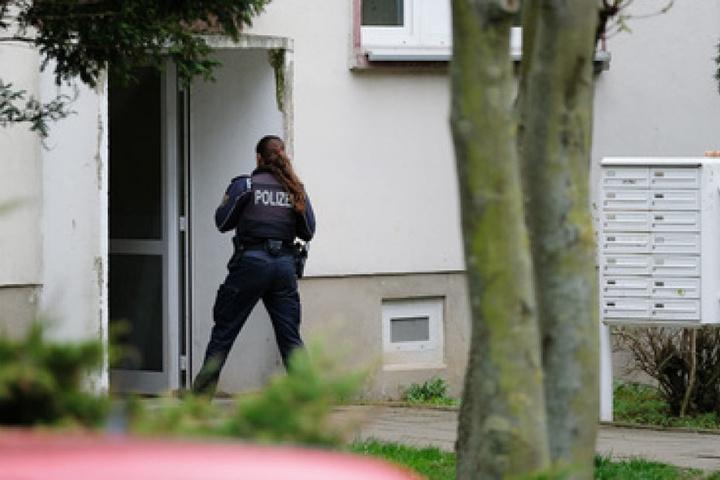 Das 50-Jährige Opfer starb noch in der Wohnung in Staßfurt.