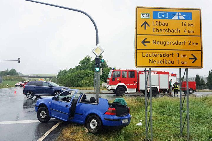 Insgesamt wurden vier Personen verletzt.