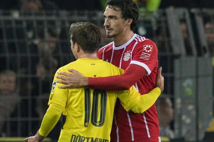 Zur kommenden Saison wieder vereint. Beide Bayern-Rückkehrer Mario Götze und Mats Hummels.