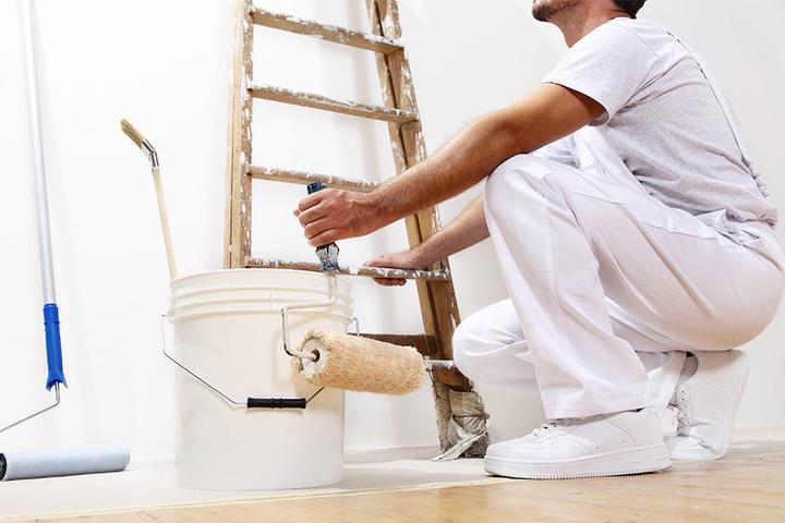 Maler können ebenfalls schädlichen Stoffen ausgesetzt sein.