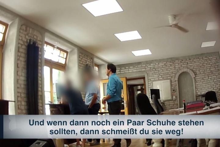 Eine Szene aus der Doku, die am Montagabend bei RTL gezeigt wurde.