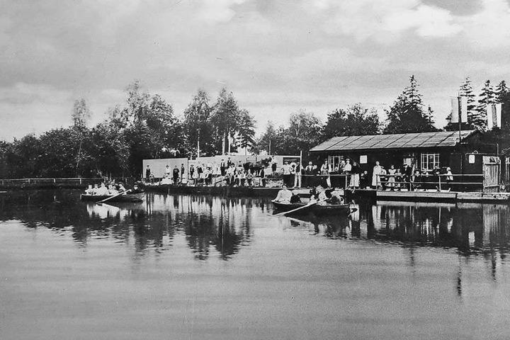 Kaum wiederzuerkennen! Vor 115 Jahren sah das Freibad noch ganz anders aus.