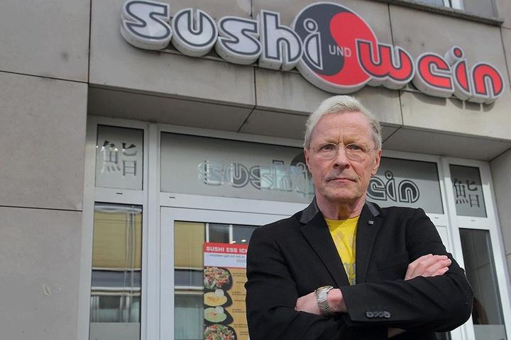 Im Sushi-Lokal von Wolle Förster  (62) kam schon so einiges abhanden.