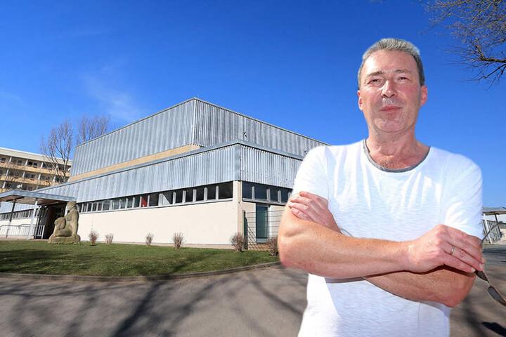 Jens Heinzig, SPD-Chef im Stadtrat, will die Gelder für das Ballsportzentrum erst einmal fürs Straßenflicken einsetzen.