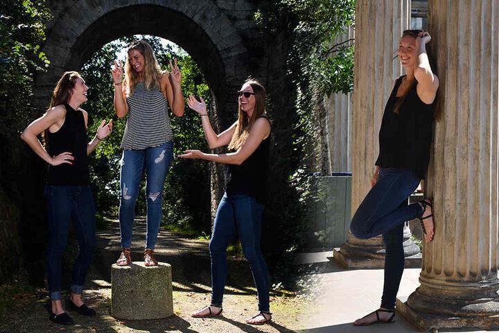 Die drei Mädels hatten beim Ausflug mit MOPo24 definitiv Spaß.