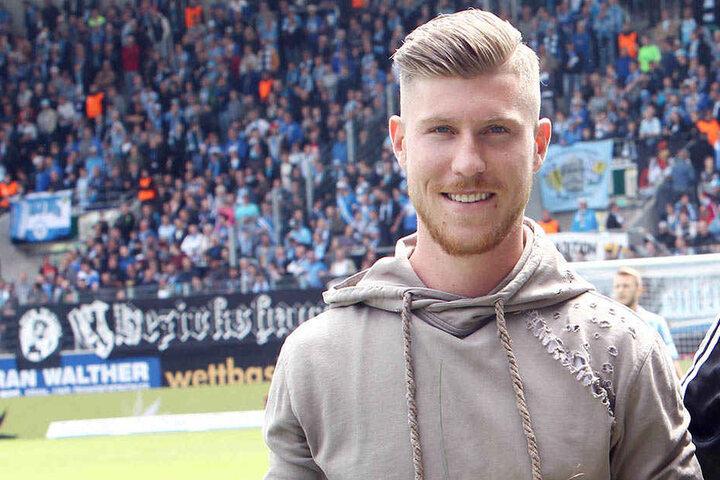 Beim Heimspiel gegen den FC Hansa Rostock wurde der Chemnitzer Außenbahnspieler bereits offiziell verabschiedet.
