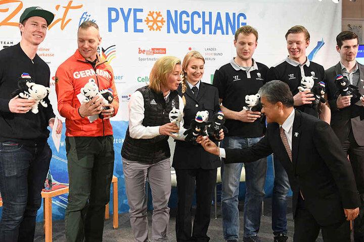Diese Berliner Sportler treten in Pyeongchang an.