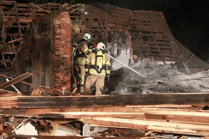 Das Restaurant wurde bis auf die Grundmauern zerstört.