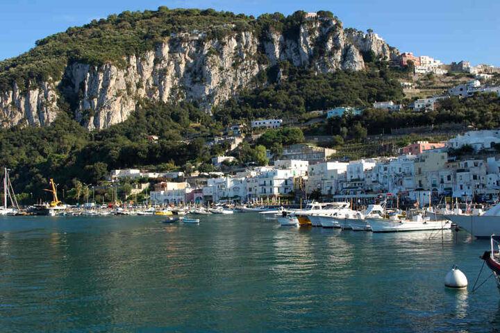 Laut Gerüchten könnte die Hochzeit auch auf Capri stattfinden.
