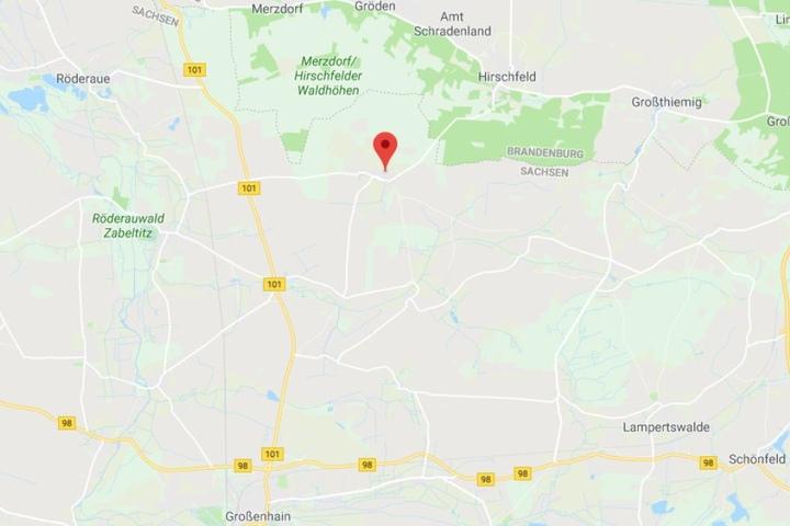 An der Grenze zu Brandenburg ereignete sich der tragische Unfall.