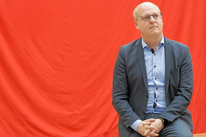Der sächsische SPD-Generalsekretär Henning Homann (39).