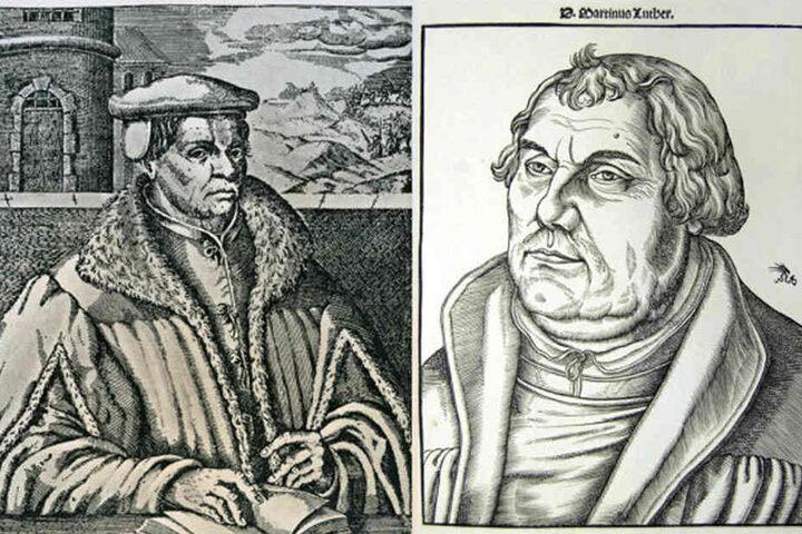 Der Theologe Thomas Müntzer (1489-1525) war ein Vertrauter Luthers. Für ihn wird ein Darsteller für ein Theaterstück gesucht. Martin Luther (1483-1546) machte mit seinem Thesenanschlag 1517 den Beginn der Reformation in Deutschland.