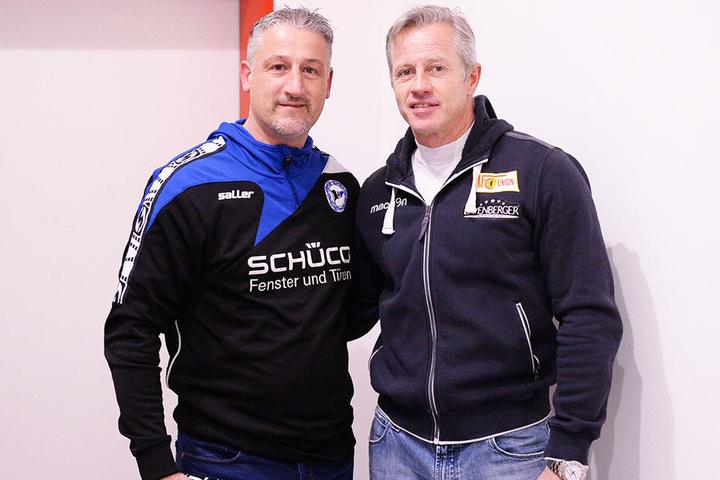 Zwei Trainer, die frei sind: Jürgen Kramny und Jens Keller.