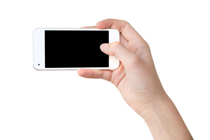 Als die Frau den Spanner bemerkte, schlug sie ihm das Handy aus der Hand (Symbolbild).