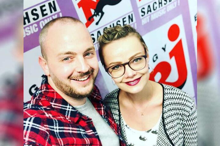 """Das Glööckler-Double ist mit der Sendung """"Franzi und Julian am Morgen"""" bei Energy Sachsen täglich im Radio zu hören."""