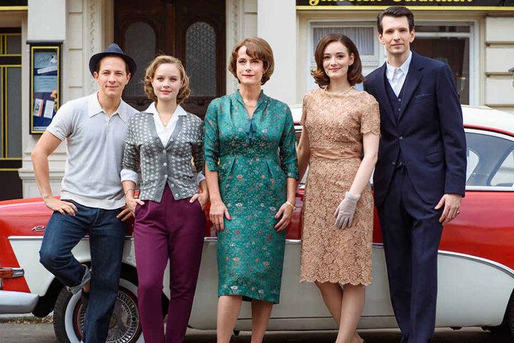Auch in der Fortsetzung sind Trystan Pütter, Sonja Gerhardt, Claudia Michelsen, Maria Ehrich und Sabin Tambrea (von links) wieder mit dabei.