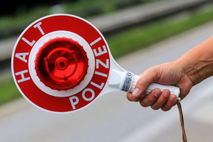 Eine Verkehrskontrolle. Davon gibt es viel zu wenige, beklagt der Chemnitzer Experte.