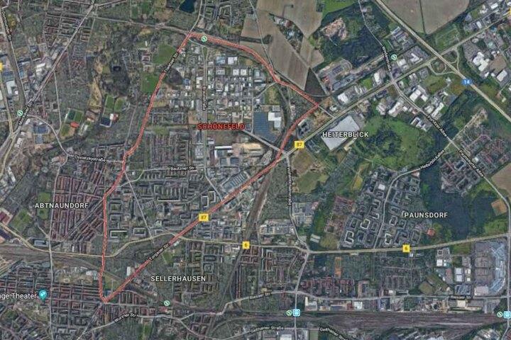 Der Vorfall soll sich im Leipziger Stadtteil Schönefeld ereignet haben.