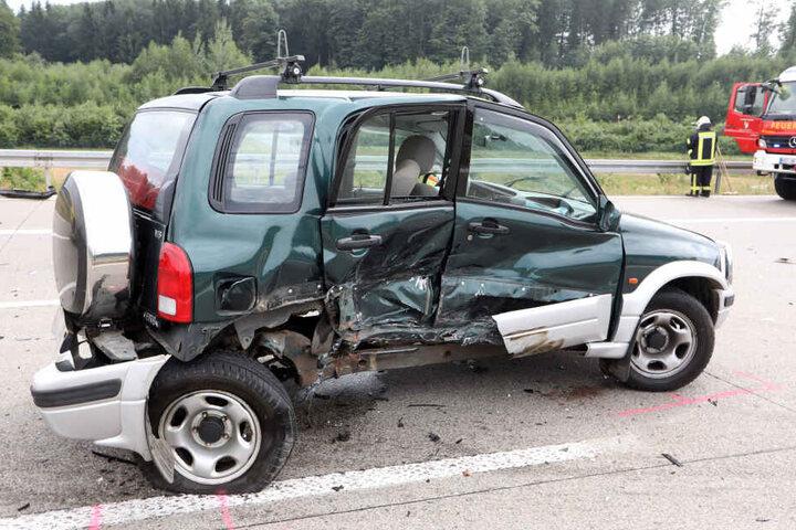 An den Fahrzeugen entstand ein Schaden von 13.000 Euro.