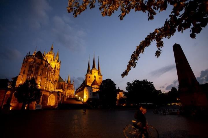 Der Erfurter Dom ist wieder Gastgeber der Festspiele.