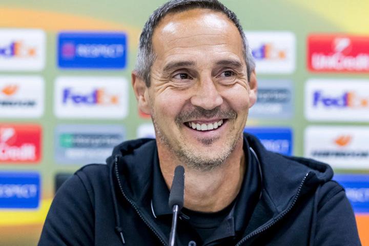 Adi Hütter erhielt bei Eintracht Frankfurt einen Vertrag bis zum Jahr 2021.