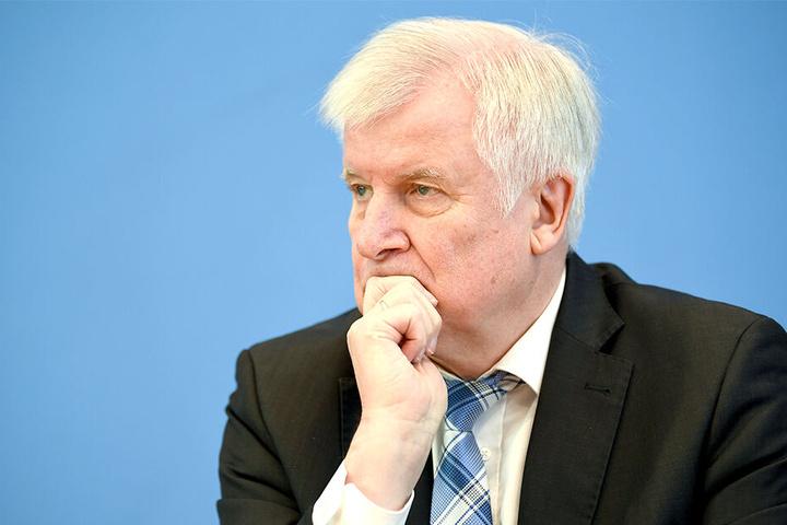 Bundesinnenminister Horst Seehofer (70, CSU).