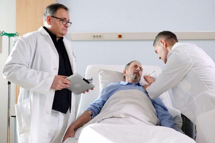 Wolfgang Stöcker leidet an einer Prostataentzündung. Nach dem Eingriff in der Sachsenklinik könnte er inkontinent und impotent sein.