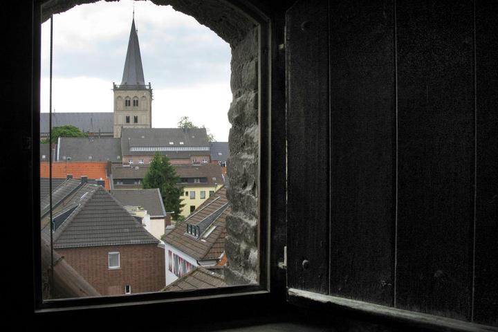 Ein Blick auf den Dom in Xanten.