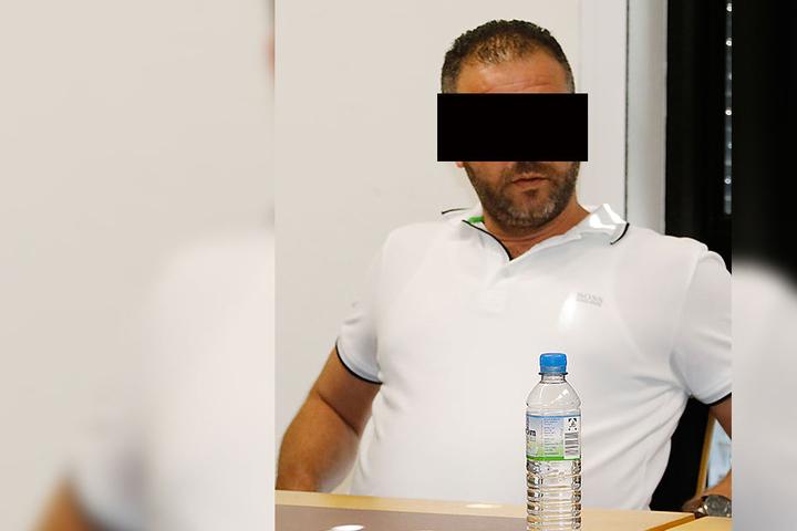 Hatem K. am Mittwoch in Chemnitz vor Gericht.
