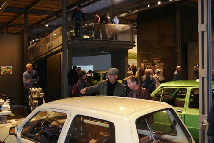 Andrang ohne Ende: Das Horch-Museum platzte am Wochenende aus allen Nähten. Mehr als 3000 Besucher wollten die neue Ausstellung sehen.