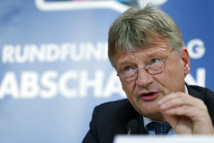 """Jörg Meuthen warf Martin nach der heftigen Kritik """"pure Heuchelei"""" vor."""