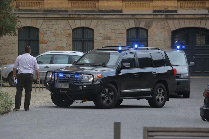 Dschaber al-Bakr wurde am Montagmittag in Dresden einem Richter vorgeführt.