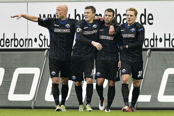 Tim Sebastian (v.l.), Zlatko Dedic, Marc-Andre Kruska und Ben Zolinski sind in Mainz gefordert.