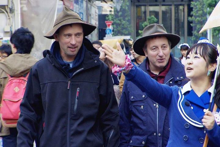 Schäfer Rainer und Heinrich auf Abwegen.