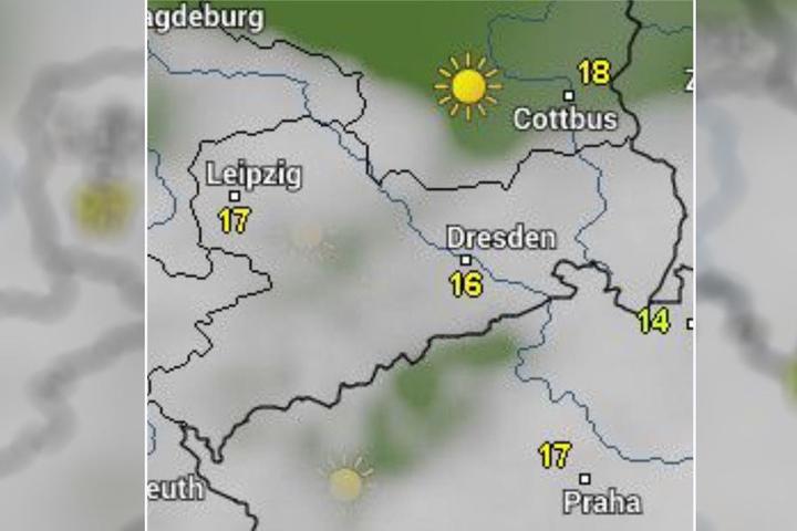 Keine Hochsommertemperaturen, dafür zumindest fast kein Regen. Der Männertag in Sachsen kann kommen!