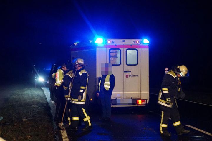 Die 22-Jährige kam leichtverletzt ins Krankenhaus.