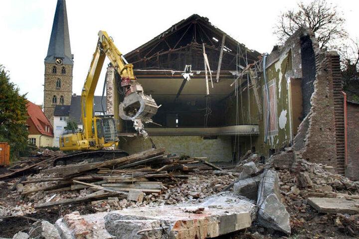 Jahrelang stand das Gebäude unter Denkmalschutz.