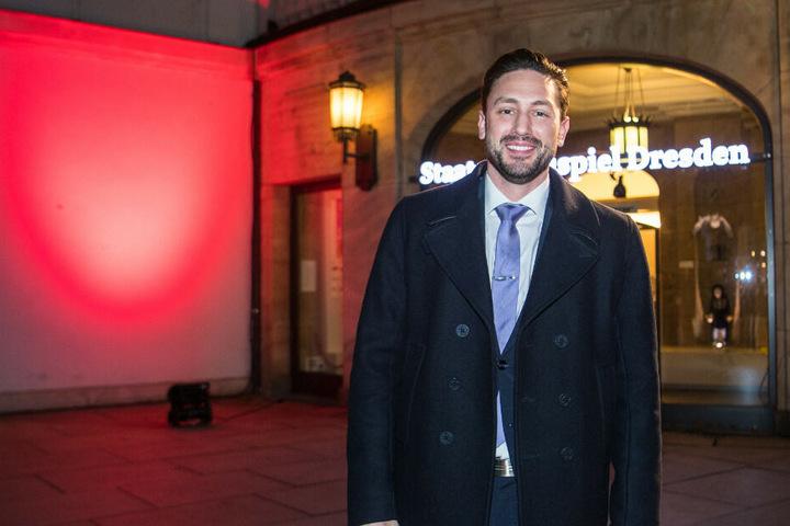 Bachelor Daniel Völz kommt zur 13. Hope-Gala ins Schauspielhaus.