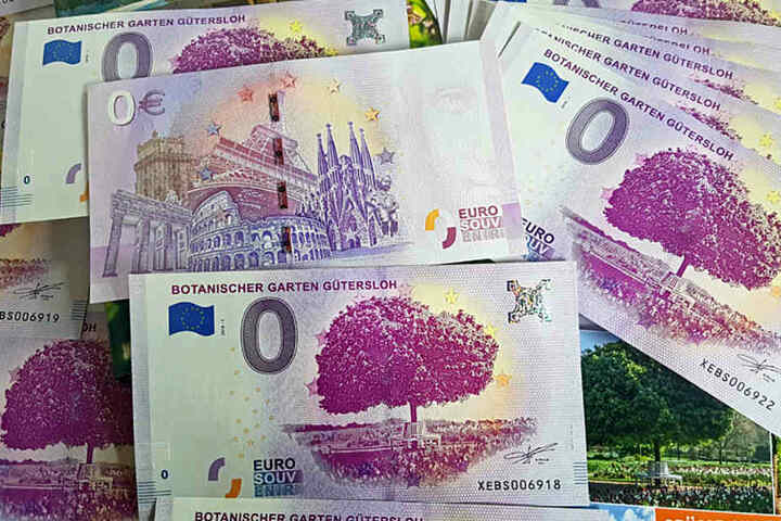 Für 3 Euro kann man den Schein bei Gütersloh Marketing kaufen. Er ist auf 10.000 Exemplare limitiert.